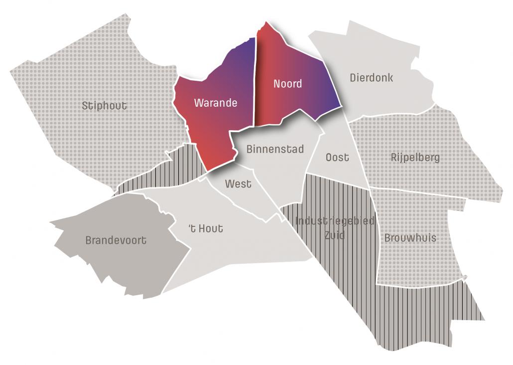 Overzichtskaart glasvezel in Helmond